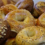 Our famous freshly baked Bagels