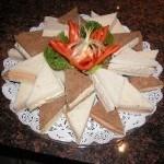 Triangle Sandwiches